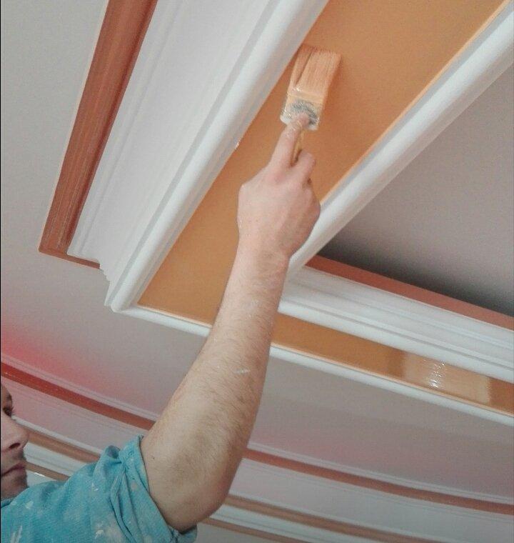 رنگ ابزار سقف