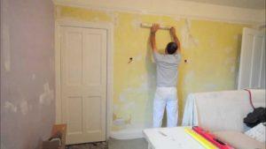 زیرسازی کاغذ دیواری