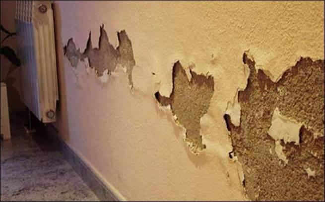 نحوه برطرف کردن رطوبت و نم دیوار