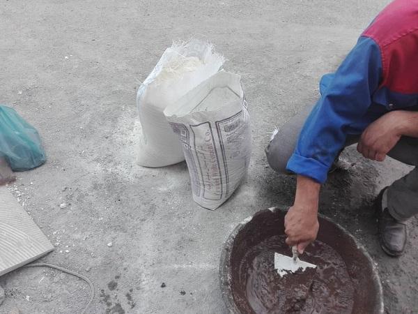 نسبت سیمان به پودر سنگ در دوغاب