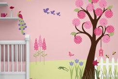 کاغذ دیواری برای اتاق کودک