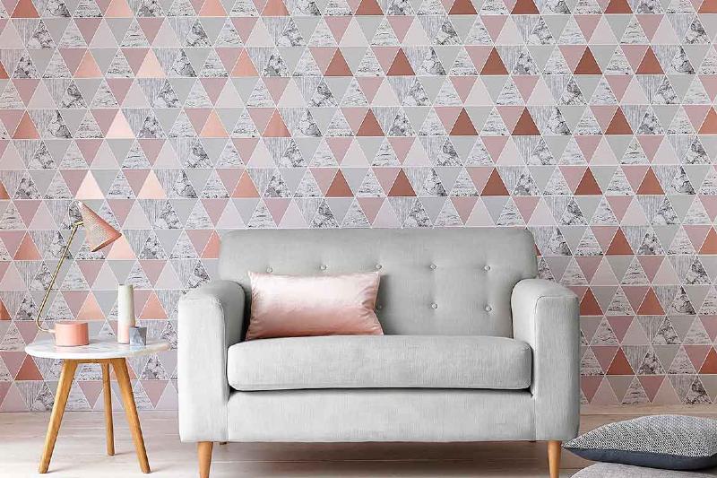 تمیز کردن کاغذ دیواری