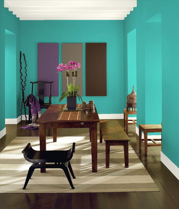 انتخاب رنگ در نقاشی ساختمان